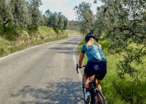 Cycling San Baronto